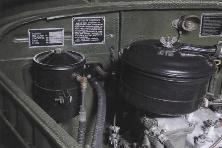 ГАЗ-69 комплектовались